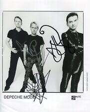 Depeche Mode SIGNED Photo 1st Generation PRINT Ltd 150 + Certificate (1)