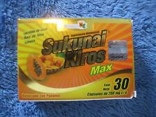 1 Box SUKUNAI KIROS MAX CAPSULES   / Weight Loss/ Unisex.  Diet Control.