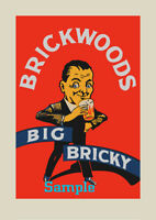 BRICKWOODS Big Bricky - Exclusive limited edition poster