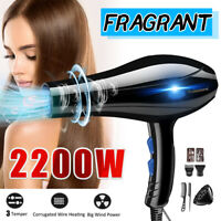220V 2200W Blue Light Aromatherapy Hair-Care Cold / Hot Electric Hair Blow