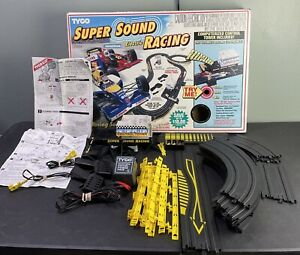 1990s Tyco NASCAR Super Sound Racing Electric Slot Car Parts SOLD AS IS UNTESTED