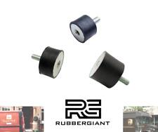 More details for rubber mount car boat bobbin anti vibration  m4 m6 m8 m10 m12 m16 cylindrical/b