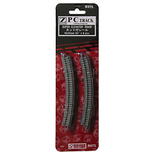 Rokuhan R075 Rail Courbe Inclinée / Inclined Curve Track R245mm 30° 6pcs - Z