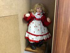 Ute Kase Lepp Porzellan Puppe 68 cm. Top Zustand