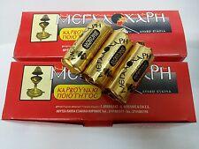 Charcoal Tablets Incense burner Hookah - Shisha Pipes 35mm 2xbig boxes 40 rolls