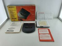 SONY discman CD player D-311(similar D-555 D-EJ01) boxed matching number