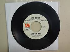 """ARTHUR LEE:(From Love)Sad Song-You Want Change For Your Re-Run-U.S. 7"""" 72 A&M DJ"""