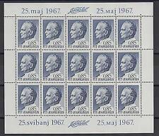 Yugoslavia Stamps Sheet