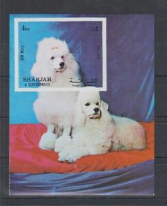 D452. Sharjah - MNH - Animals - Dogs - Imperf