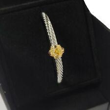David Yurman Renaissance Classic Cable Citrine Bracelet