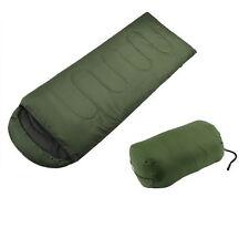 3 Season Camping Hiking Cotton Sleeping Bag Warm Soft Adult Single Waterproof by