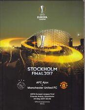 2016/17   Ajax  v  Manchester United   Europa League Final  x 2 Different   MINT