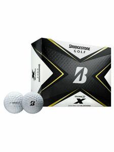 Bridgestone Tour B X Golf Balls - 2020 1 Dozen White -  Mens