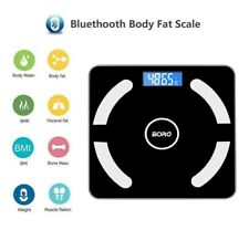 400lb Lcd Digital Body Fat Scale Smart Bluetooth App Bathroom Weighing Scales Us