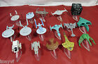 STAR TREK Micro Machines Collectable Plastic Model Star-Ships With Stands