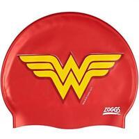 DC Super Heroes Junior Wonder Woman Silicone Swim Cap