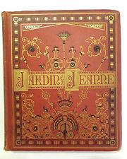 Desbeaux Emile Le jardin de mademoiselle Jeanne livre illustré book XIXème s