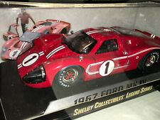 Shelby Collectibles Ford GT MK IV 1967 1:18 - Rouge