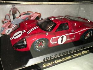 1:18 Shelby Collectibles Gurney/Foyt Ford #1 GT40 MKIV LeMans Winner 1967