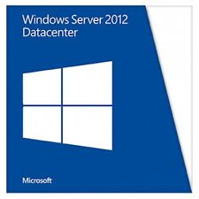 Microsoft Windows Server 2012 Datacenter 2 CPU X18-45392 P71-06787 with COA