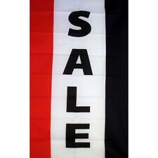 Sale Vertical Flag Banner Sign 3' x 5' Foot Polyester Grommets