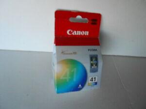 New Genuine OEM Canon PIXMA 41 CL-41 Color Ink Cartridge Chromalife100 FreeShip