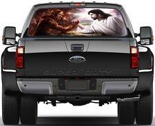 Struggle Good & Bad Love Jesus  Rear Window Graphic Decal Truck SUV Van Car