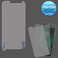 For Motorola Moto 4th Gen 2X Clear Screen Protector Guard with Cleaning Cloth