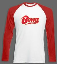 David Bowie Long Sleeve Baseball Jersey All Sizes Long Sleeve Shirt John Lennon