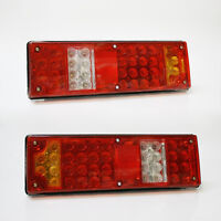 12V Led Rear Lights Caravan Motorhome For Pegasus Hobby Fendt Adria Pick Up