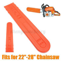 Chainsaw Bar Cover Guide Plate Plastic Set 61cm for 22''-28'' 038 044 046