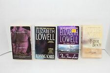 Lot of Elizabeth Lowell Romance Novels Shadow & Silk Running Scared Amber Beach