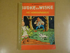 STRIP 1° DRUK TWEEKLEURENREEKS / SUSKE EN WISKE N° 45 - HET HONDENPARADIJS