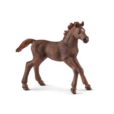 Schleich 13857 English Thoroughbred Foal Horse Model Toy Figurine 2018 - NIP