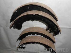 GENUINE FRONT REAR BRAKE SHOES WITH LINING JEEP MAHINDRA CJ340DP CJ540DP MM540DP