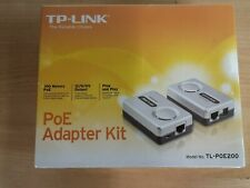 TP-LINK / PoE Adapter Kit / TL-POE200 / Repeater /