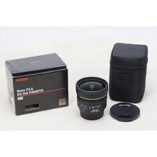 Sigma Fisheye 8mm f/3.5 EX DG Circular Fisheye Autofocus Lens for Canon EF UU
