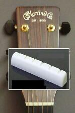 "GeetarGizmos 1 11/16"" SLOTTED BONE NUT made for Martin Acoustic Guitar"
