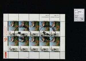 Nederland gestempeld 1997 used sheet V1727 - Nederland Waterland