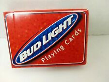 Bud Light Playing cards Bicycle Made in USA  1999  Open Box  New