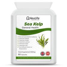 Sea Kelp (Fucus) - 600mg - 90 Tabletas