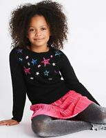 Marks and Spencer Star Gem Jumper Ages 6-7 & 10-11