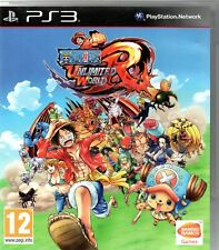 JEU PS3 : ONE PIECE UNLIMITED WORLD RED - 1-2 Joueurs - FRANCE - TBE - PAS CHER