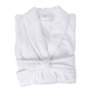 Men's Women's Bath Robe Dressing Gown Warm Supersoft Bathrobe Coral Fleece