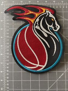 Detroit Pistons Horse Logo Patch NBA National Basketball Association Michigan MI