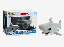Funko Pop Movies: Jaws - Great White Shark with Diving Tank Vinyl Figure #38567