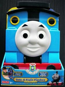 THOMAS TAKE & PLAY TOTE-A-TRAIN PLAY BOX -POTABLE PLAY SET & STORAGE