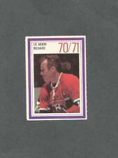 1970-71 Esso Hockey Stamp Henri Richard Montreal Canadiens