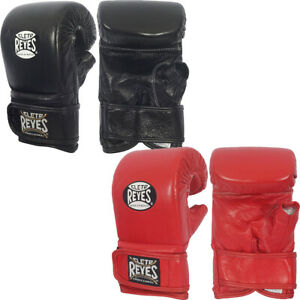 Cleto Reyes Boxing Bag Gloves with Hook and Loop Closure
