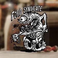 Ford Syndicate Ed Roth Aufkleber Sticker Hemi Mopar V8 US Rat Fink Old School